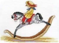 Faye Whittaker All Our Yesterdays Rocking Horse (Cross Stitch Kit), range, Mixed, 25 x 15 x 2 cm